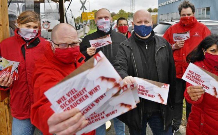 Beschäftigte der Firma Schauenburg ringen um den Erhalt der Tarifbindung