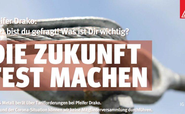 Haustarifverhandlungen bei Pfeifer Drako